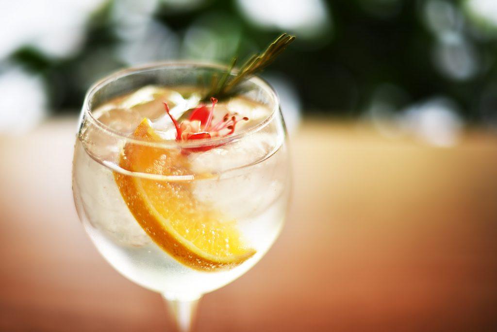 gin-tonick agua y sal