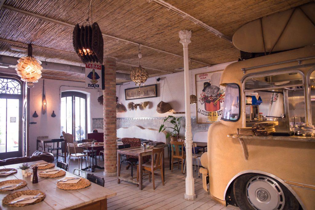 Restaurante La Girafe Plateselector
