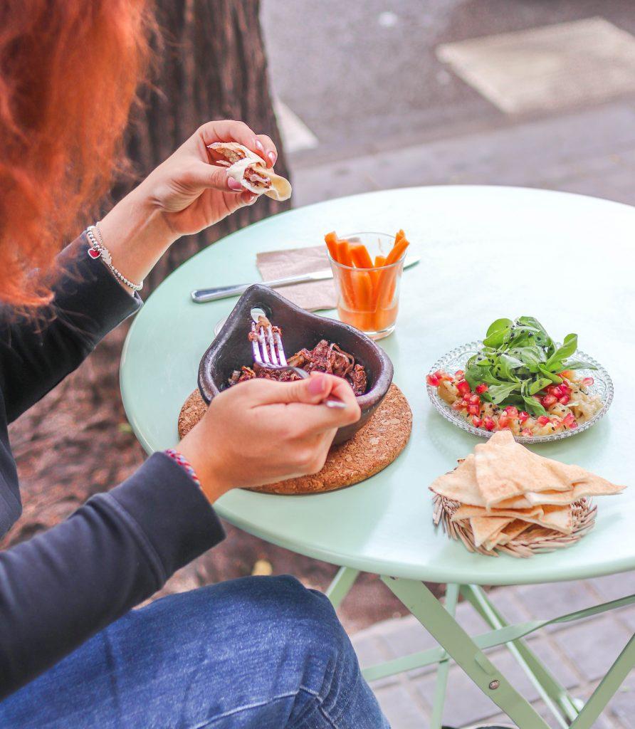 Restaurante en Madrid Aires de Beirut en Gracia