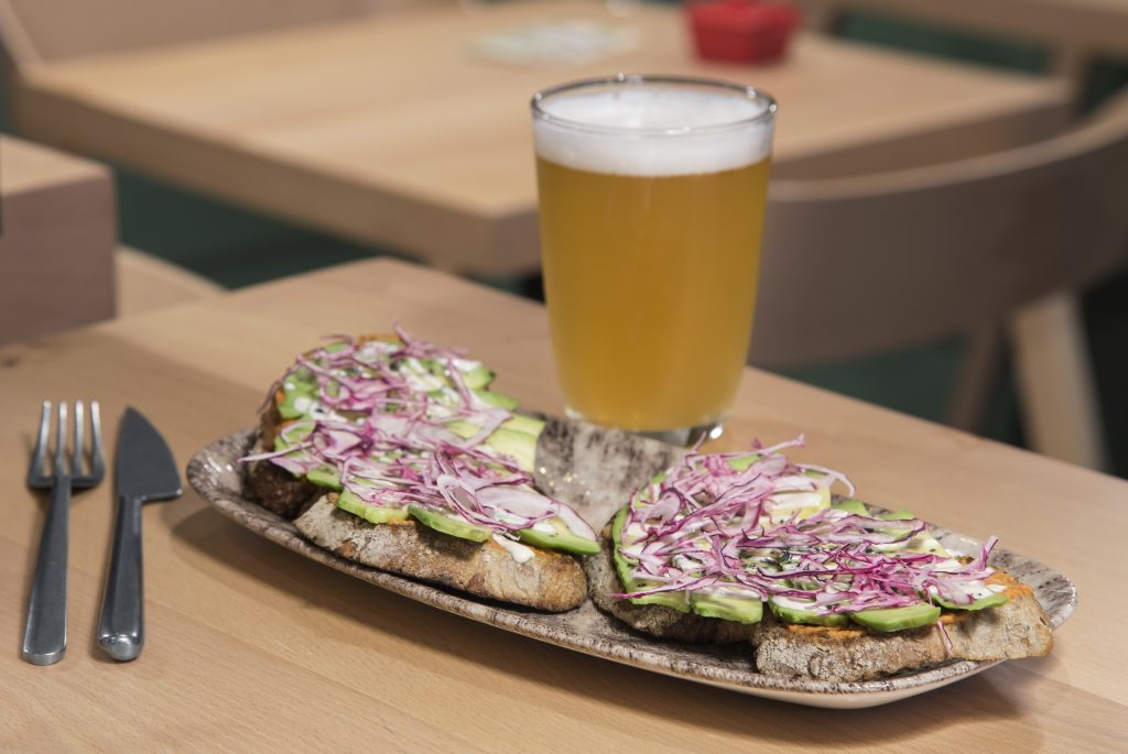 Plateselector - Tostada con aguacate del Lével Café de Madrid