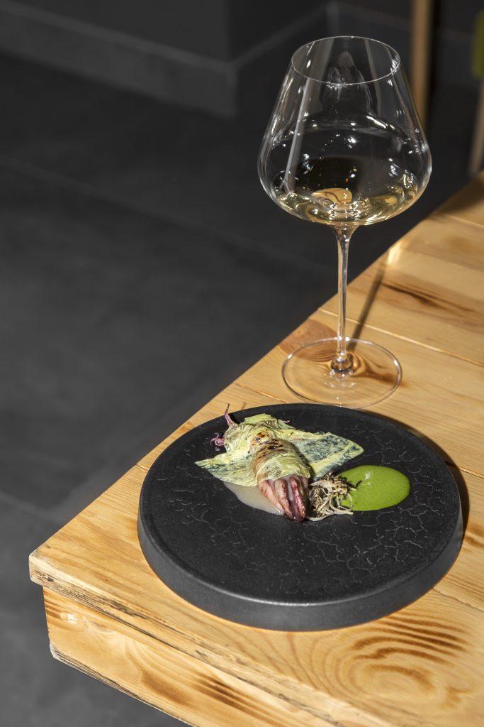 Plateselector - Chipirón con eneldo del restaurante Gaytan de Madrid