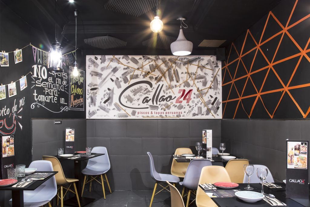 Plateselector - Local del restaurante Callao 24 de Madrid