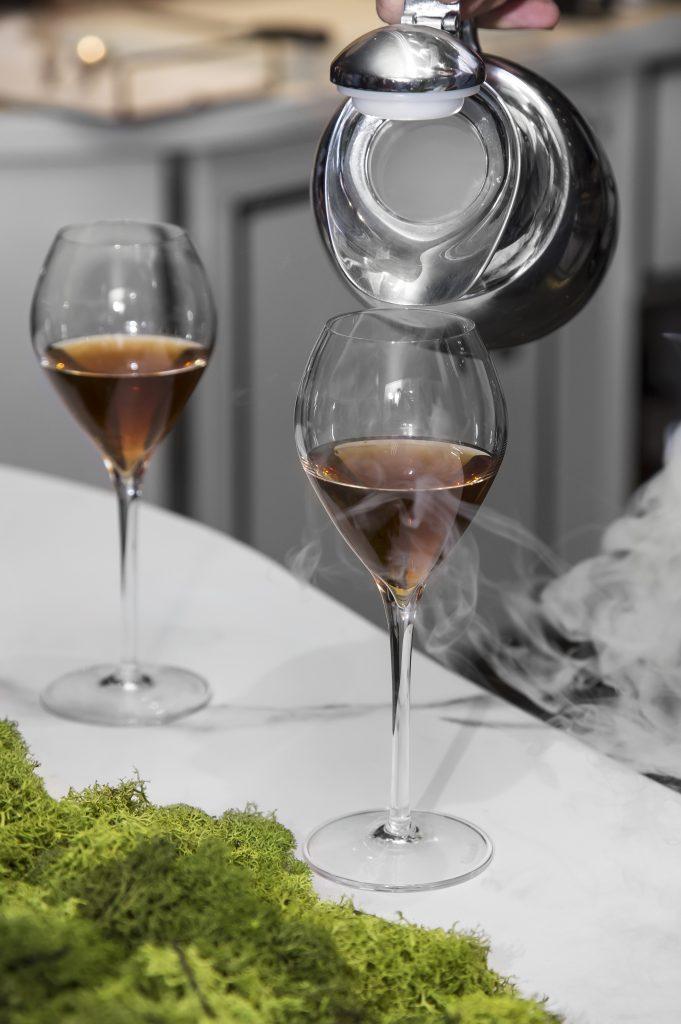 Plateselector - Infusión de celeri mosto del restaurante Gaytan de Madrid
