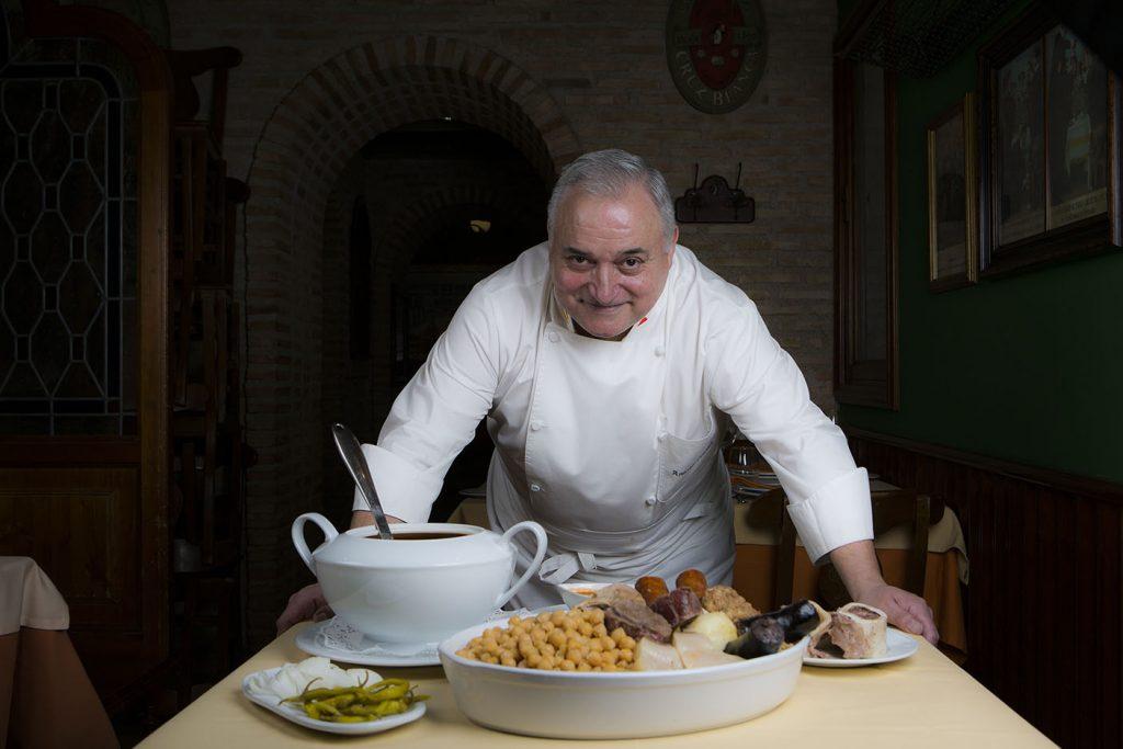 Plateselector - Cocido del Restaurante Cruz Blanca Vallecas de Madrid