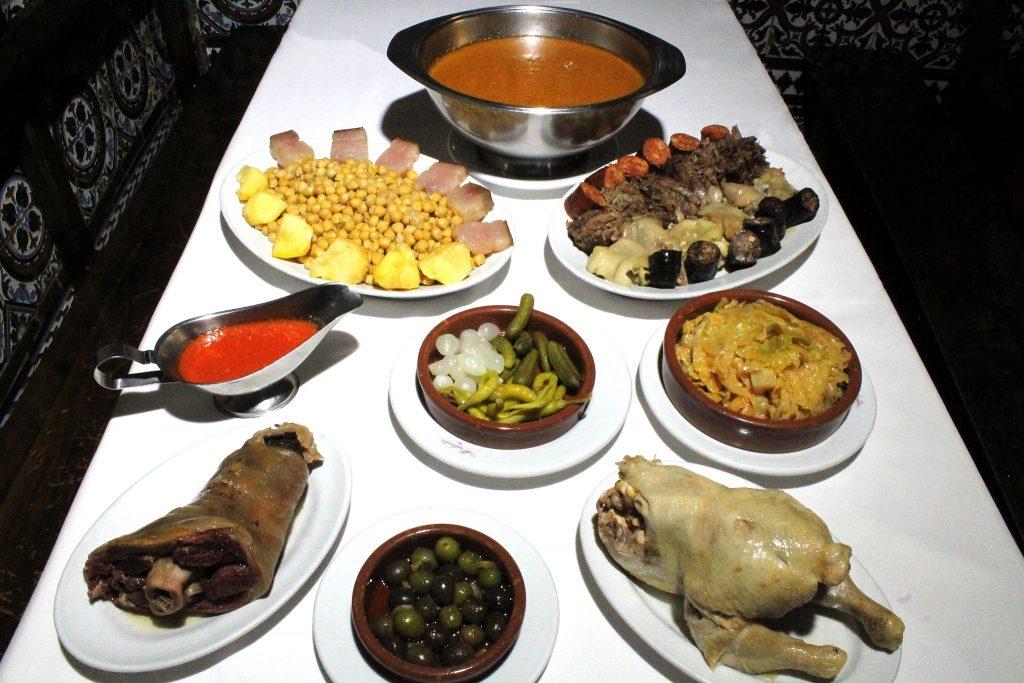 Plateselector - Cocido del Restaurante Malacatin de Madrid