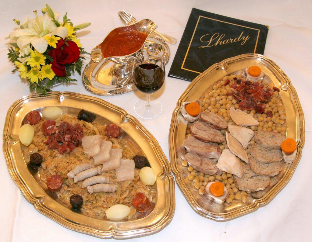 Plateselector - Cocido del Restaurante Lhardy de Madrid