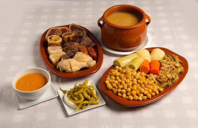 Plateselector - Cocido del Restaurante Casacarola de Madrid