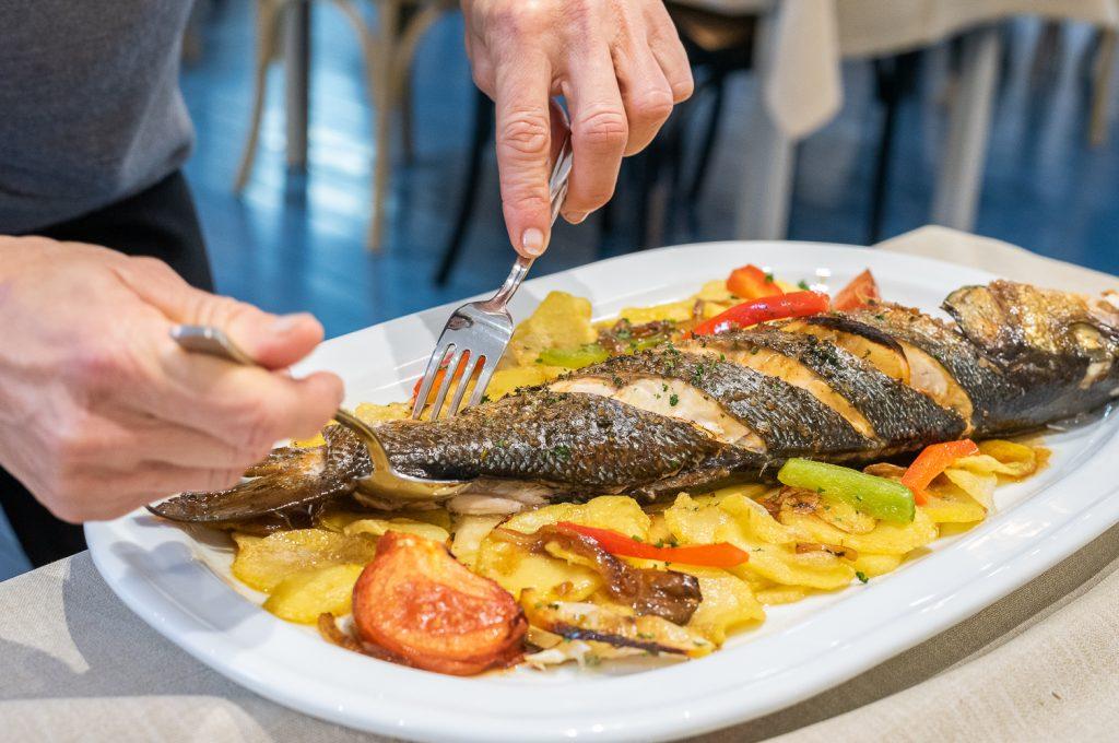 Plateselector - Pescado del Restaurante Amares de Vigo