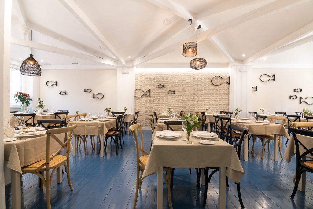 Plateselector - Local del Restaurante Amares de Vigo