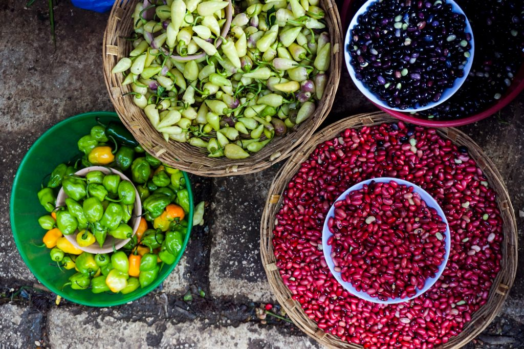Plateselector - Comida mexicana y frejoles