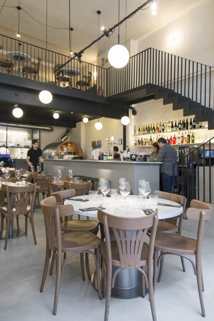 Plateselector - Local del Restaurante Isabella de Madrid