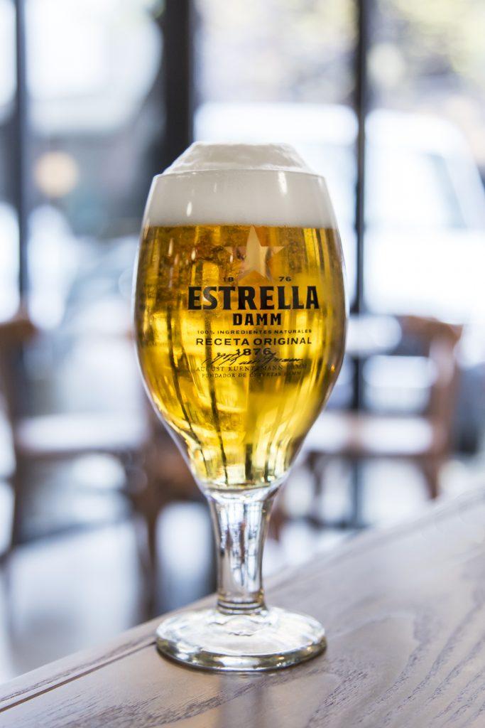 Plateselector - Estrella Damm en el Restaurante Isabella de Madrid