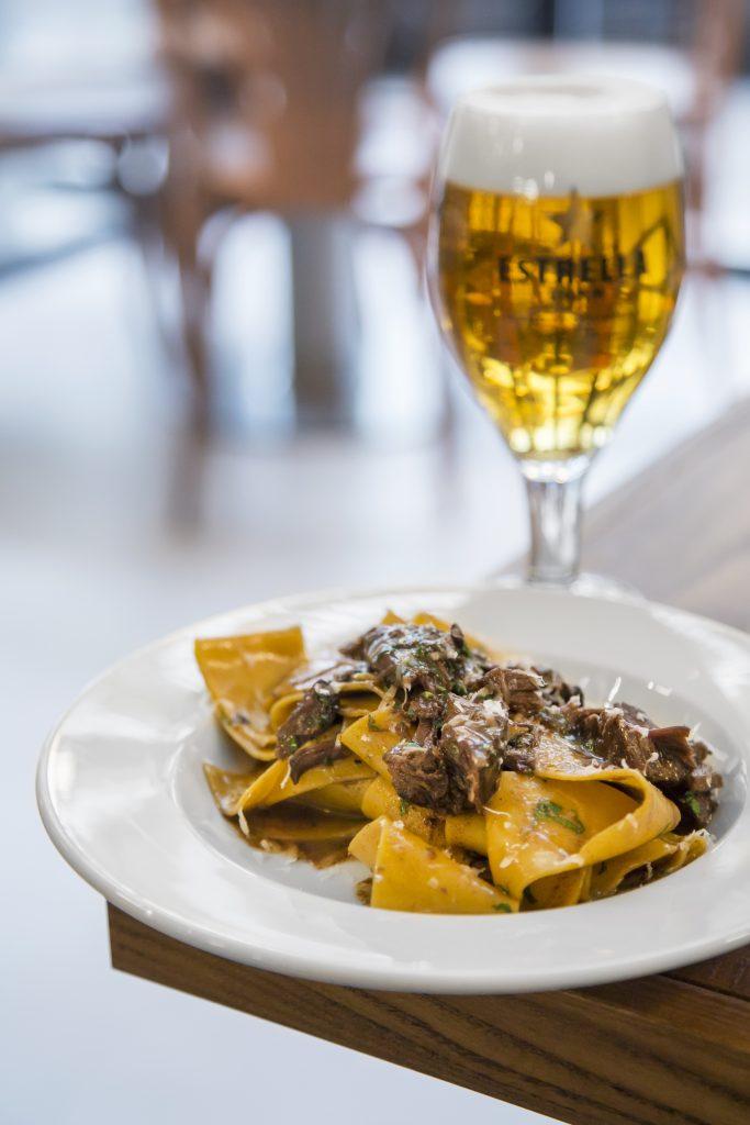 Plateselector - Pappardelle con Ragu del Restaurante Isabella de Madrid