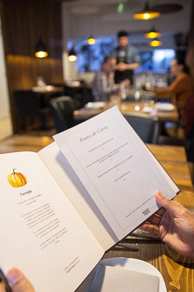 Plateselector - Carta del Restaurante Mood Food de Valencia