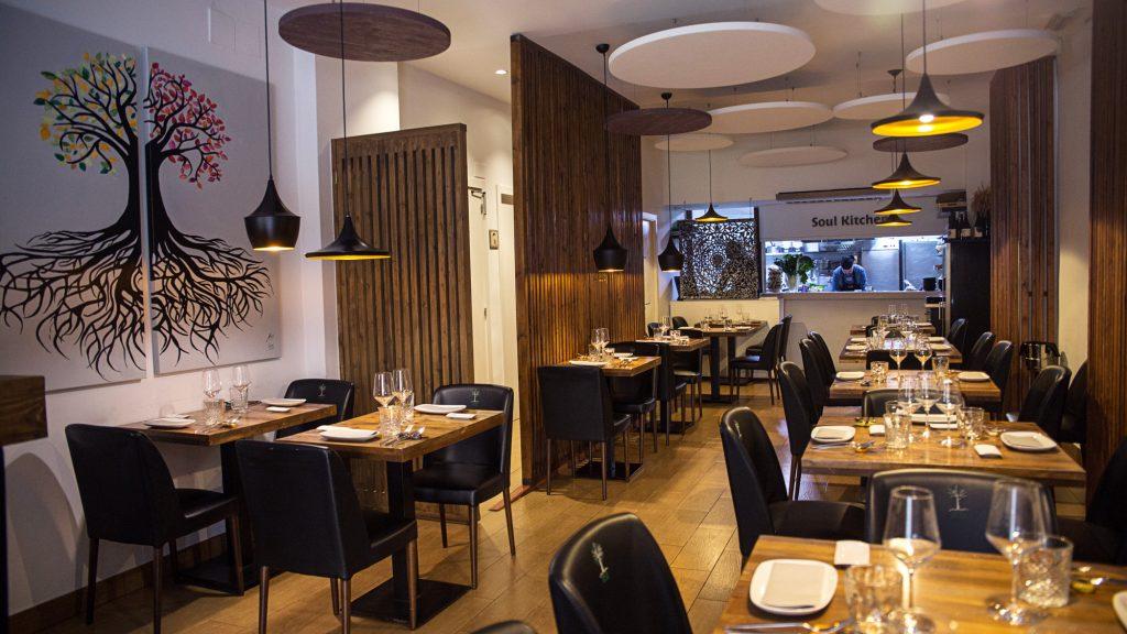 Plateselector - Local del Restaurante Mood Food de Valencia