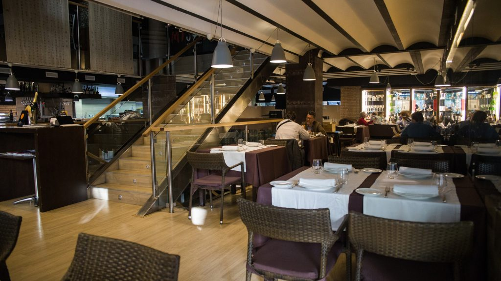 Plateselector - Local del Restaurante Q'Tomas de Valencia