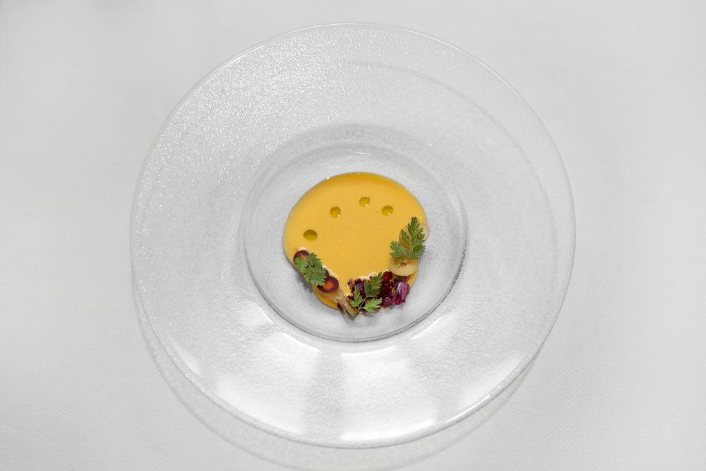Plateselector - Escabeche de codorniz del Restaurante Santerra de Madrid