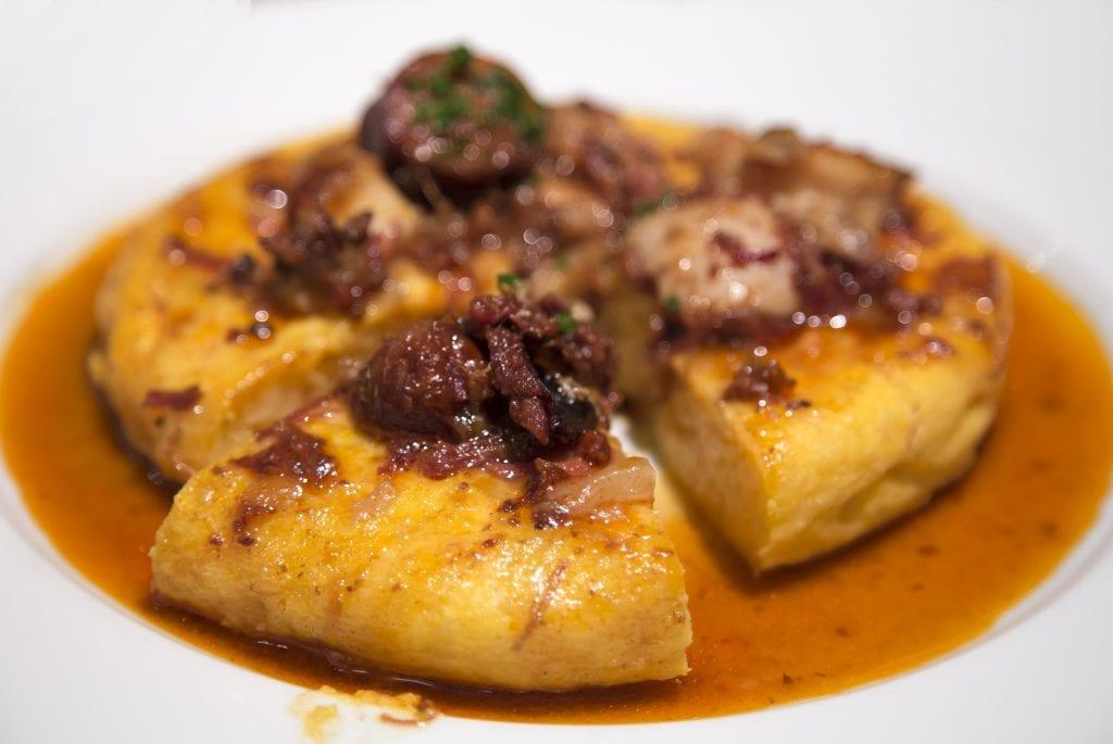 Plateselector - Tortilla del Restaurante Gallinas y Focas de Madrid