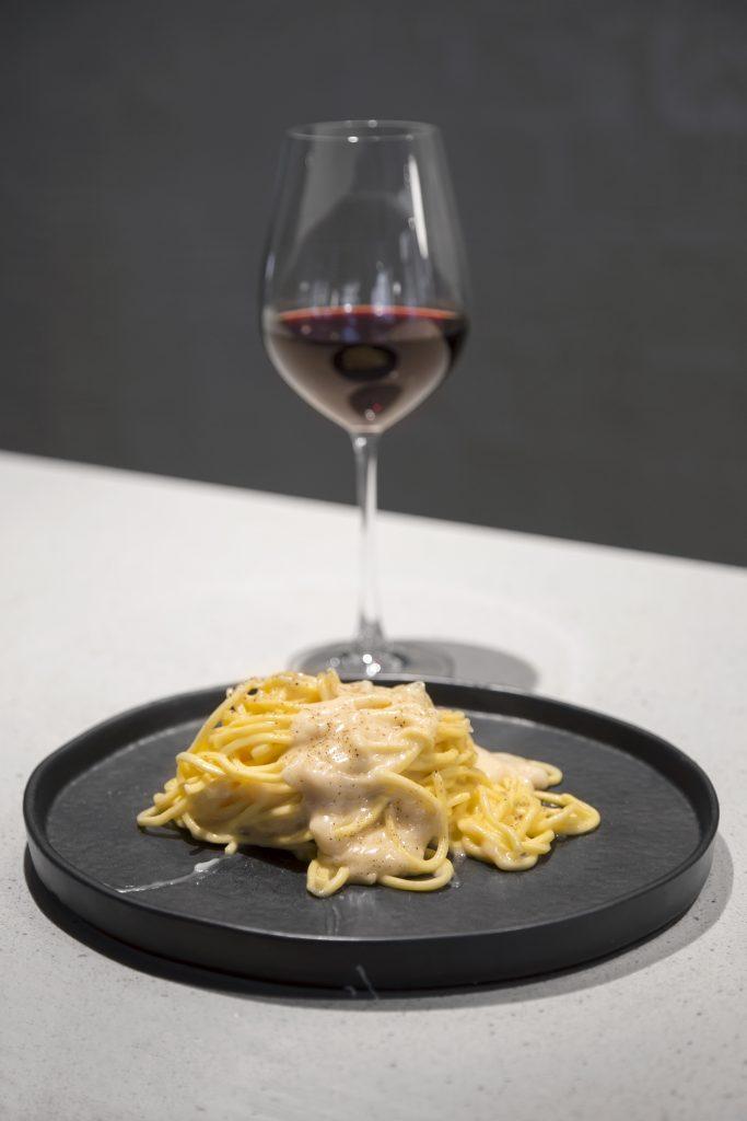Plateselector - Spaghetti fresco al parmesano del Restaurante Lettera de Madrid