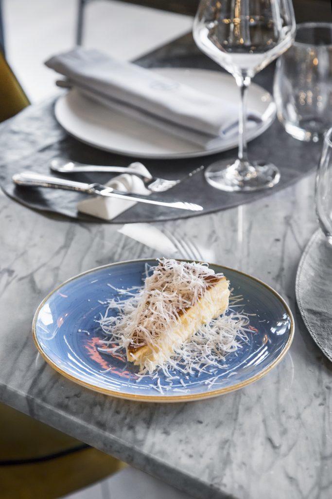 Plateselector - Tarta de queso del Restaurante Pedegrú de Madrid