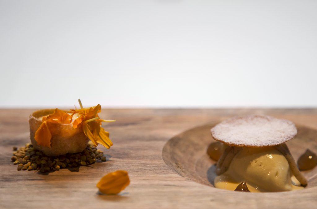 Plateselector - Miel de brezo del Restaurante Santerra de Madrid