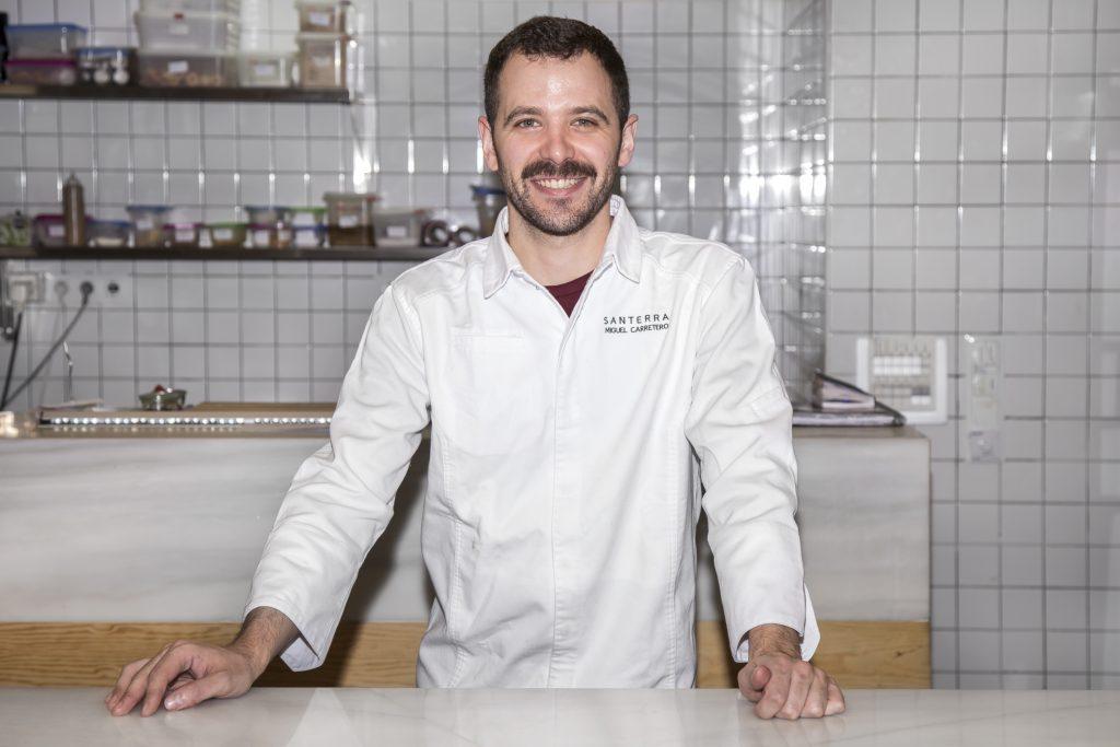 Plateselector - Chef Miguel Carretero del Restaurante Santerra de Madrid