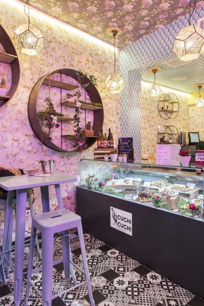 Plateselector - Espacio del Restaurante Cuchi Cuchi de Madrid