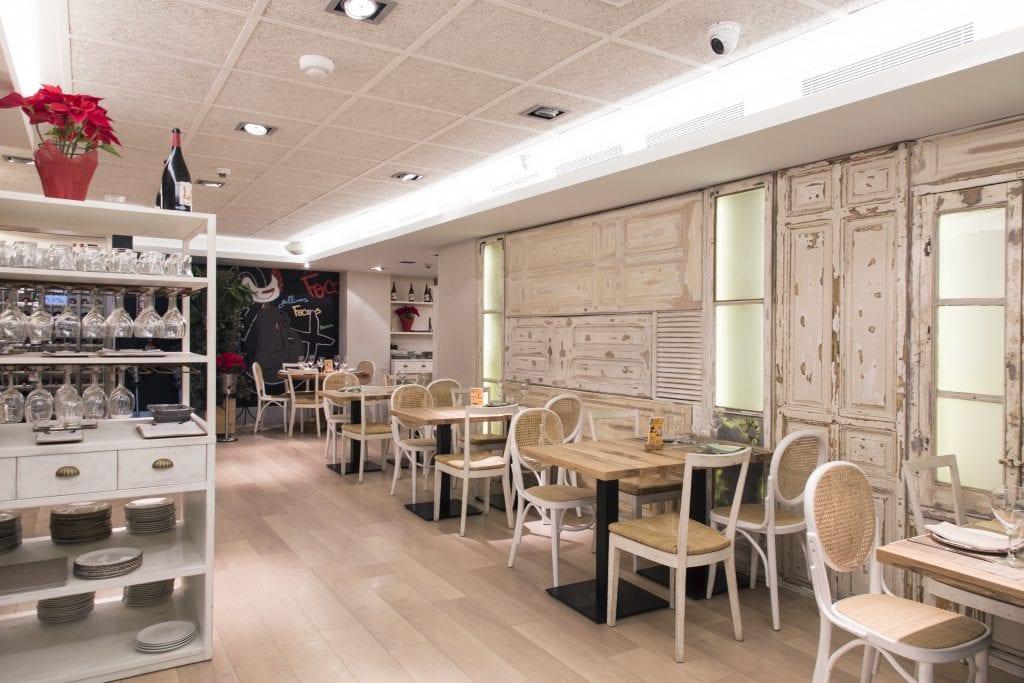 Plateselector - Espacio del Restaurante Gallinas y Focas de Madrid