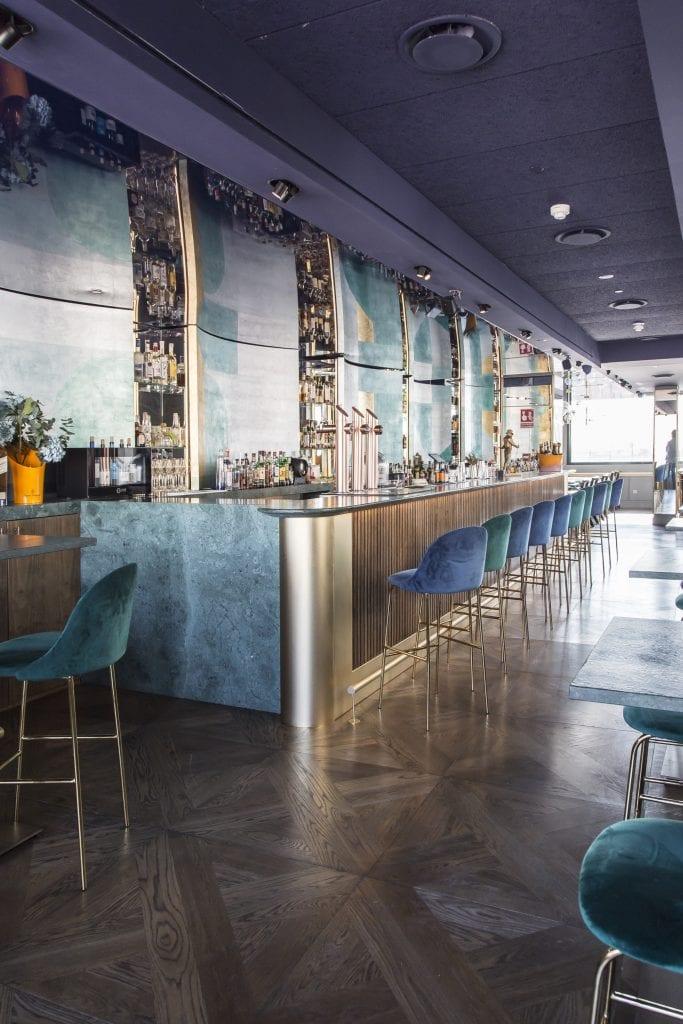 Plateselector - Espacio del Restaurante My Way Sky de Madrid