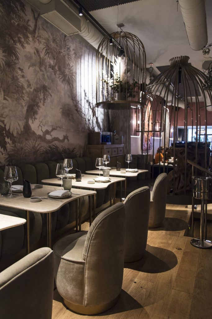 Plateselector - Espacio del Restaurante Salvaje de Madrid