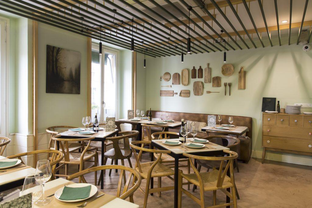 Plateselector - Local del Restaurante Santerra de Madrid