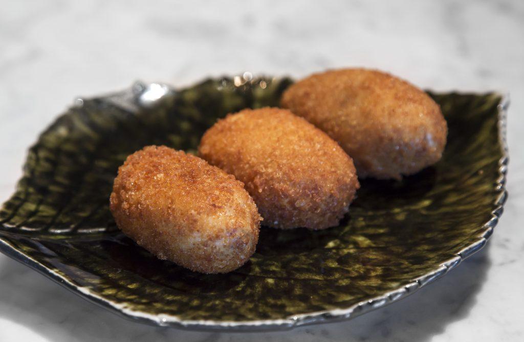 Plateselector - Croquetas del Restaurante Pedegrú de Madrid