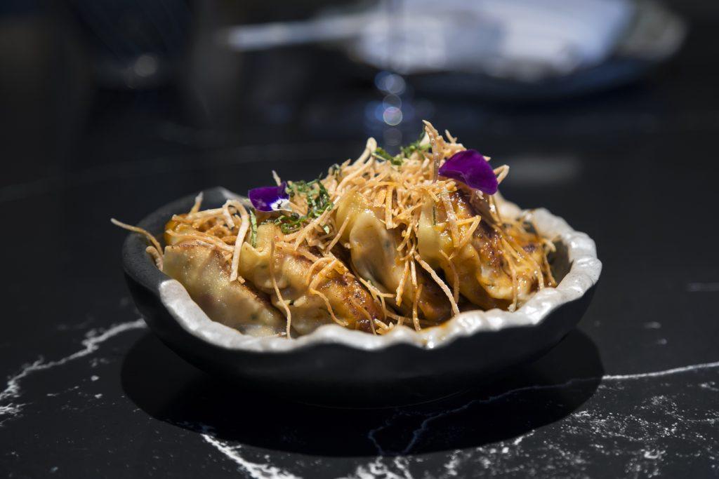 Plateselector - Bogavante dumpling del Restaurante Salvaje de Madrid
