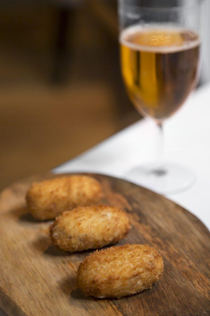 Plateselector - Croquetas artesanas del Restaurante Santerra de Madrid