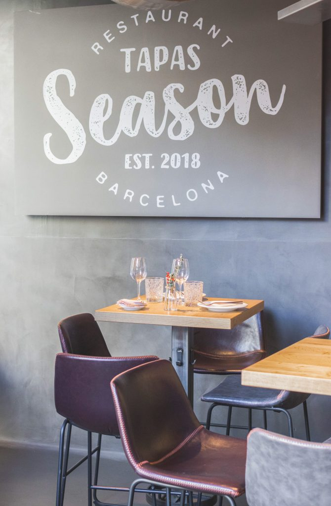 Plateselector - Local del Restaurante Season de Barcelona