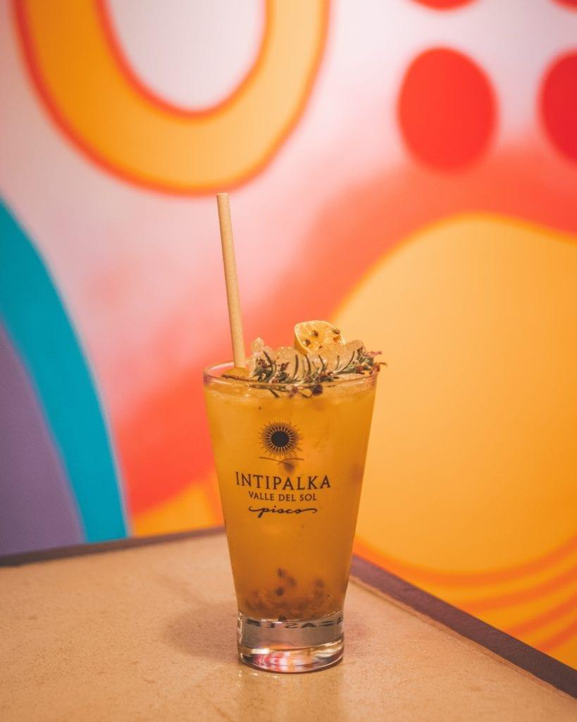 Plateselector - Cocktail del Restaurante Leche de Tigre de Barcelona