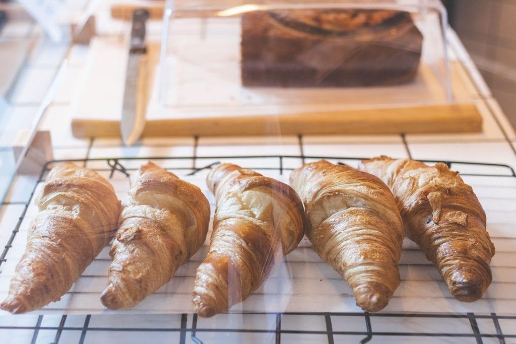 Plateselector - Croissant del People Love Coffee de Barcelona