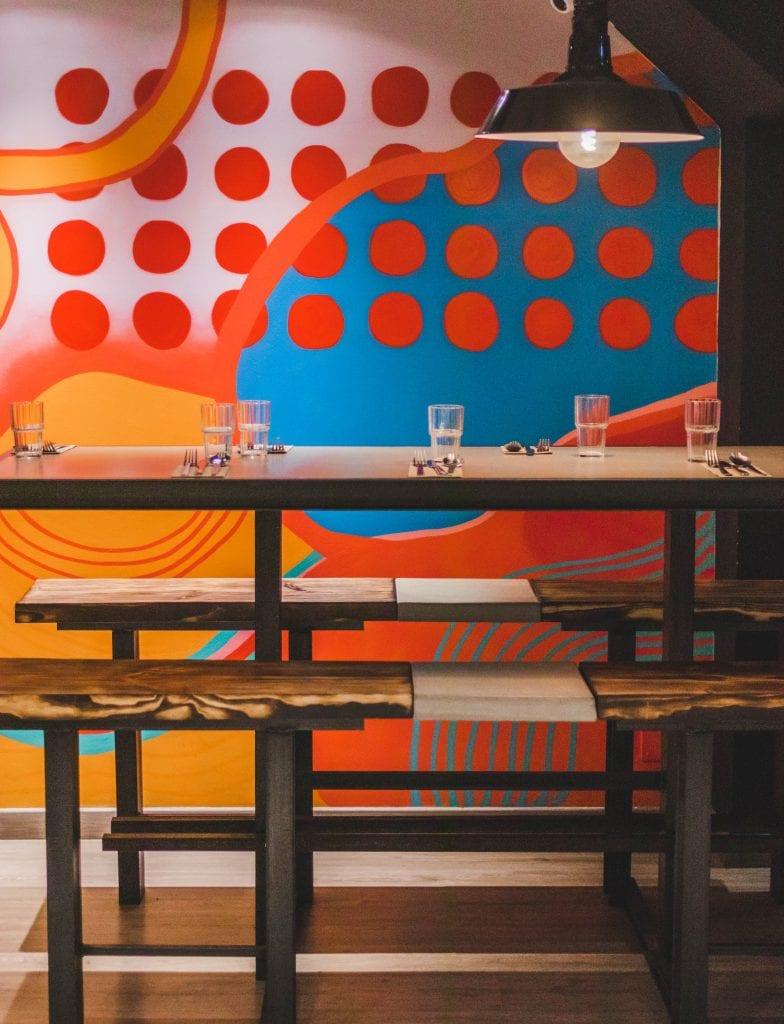 Plateselector - Espacio del Restaurante Leche de Tigre de Barcelona