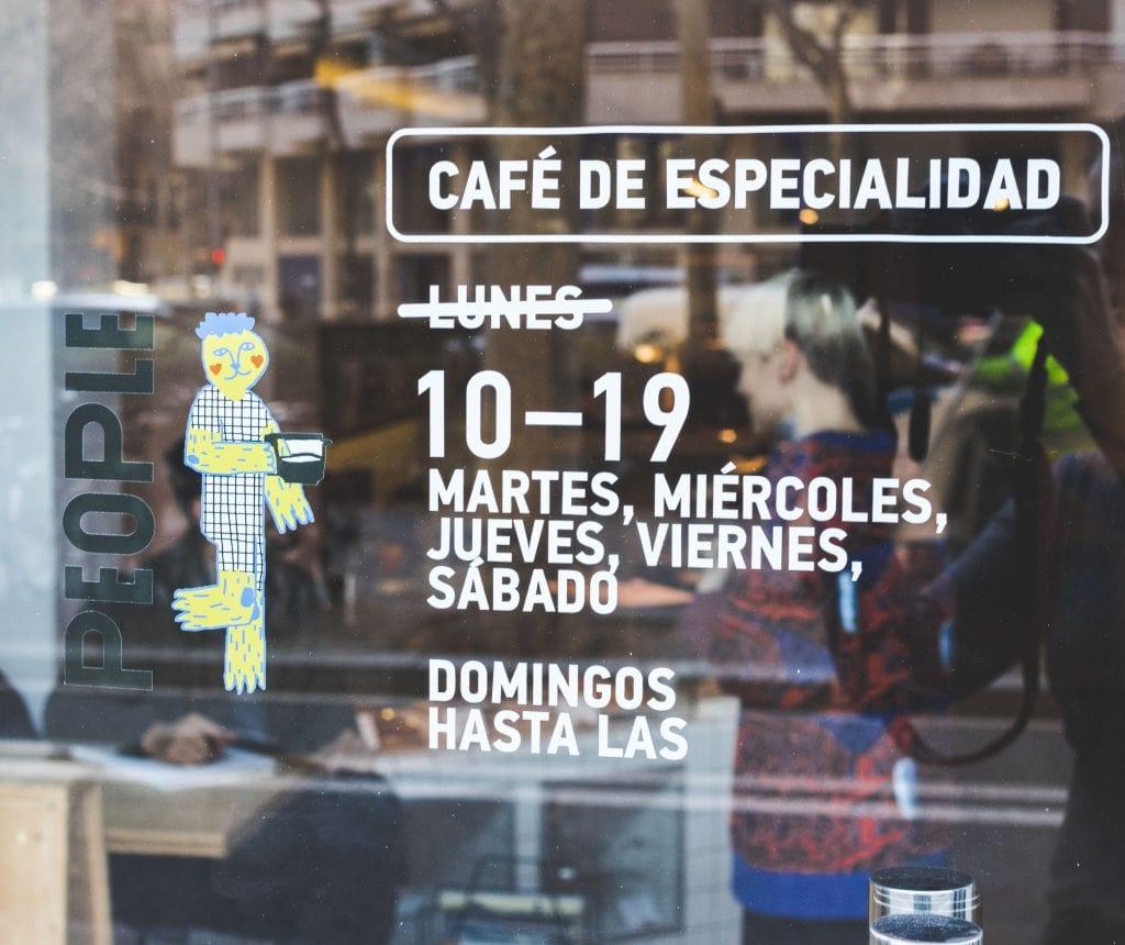 Plateselector - Espacio del People Love Coffee de Barcelona