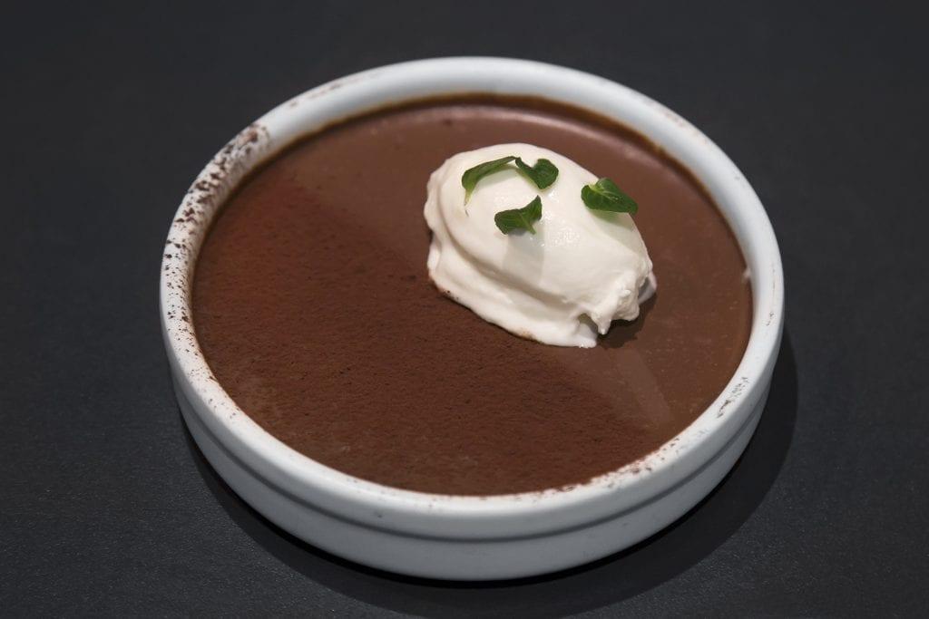 Plateselector - Chocolate y cítricos del Restaurante Sandó de Madrid