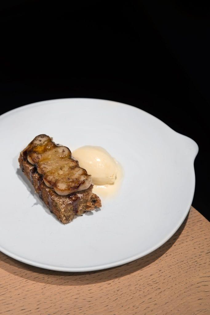 Plateselector - Crema de castañas del Restaurante Sandó de Madrid