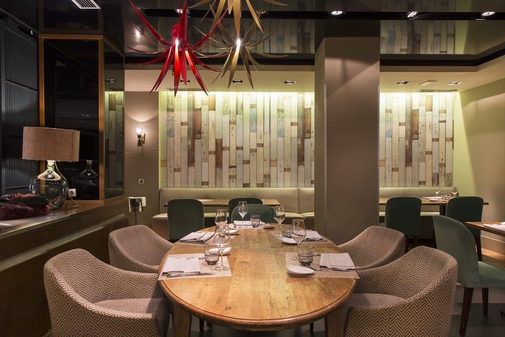 Plateselector - Espacio del Restaurante Sandó de Madrid
