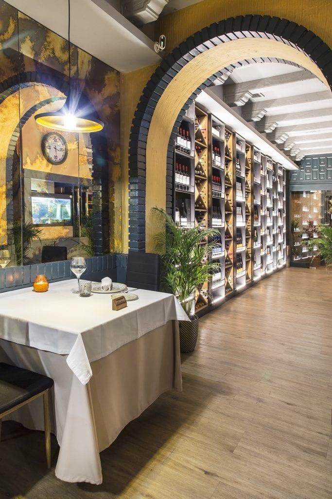 Plateselector - Local del Restaurante Nebak de Madrid