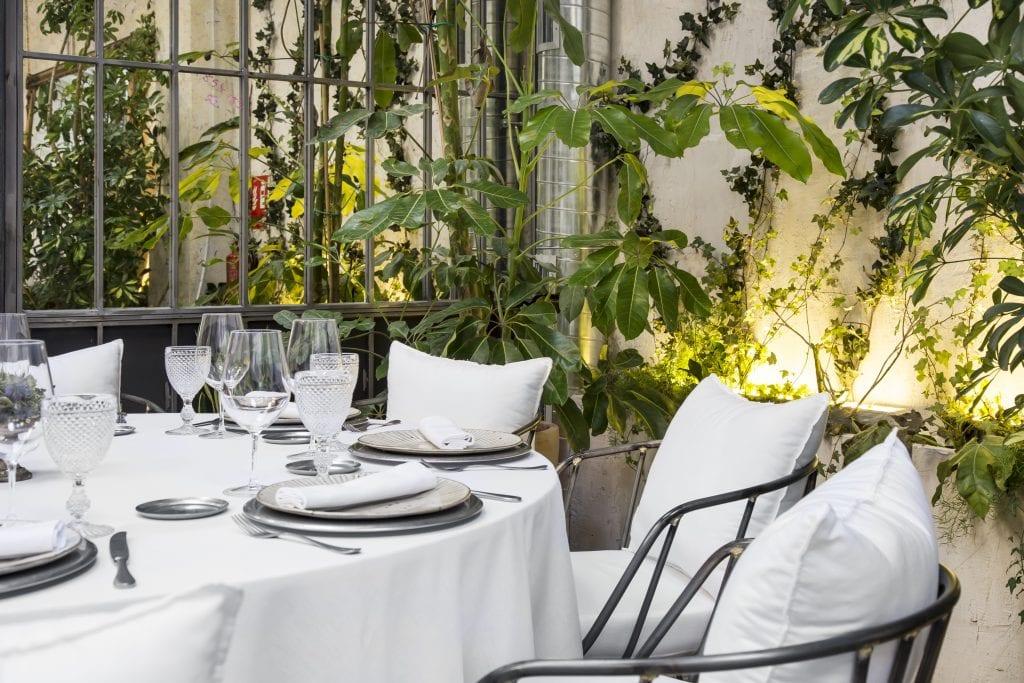 Plateselector - Espacio del Restaurante Ovillo de Madrid