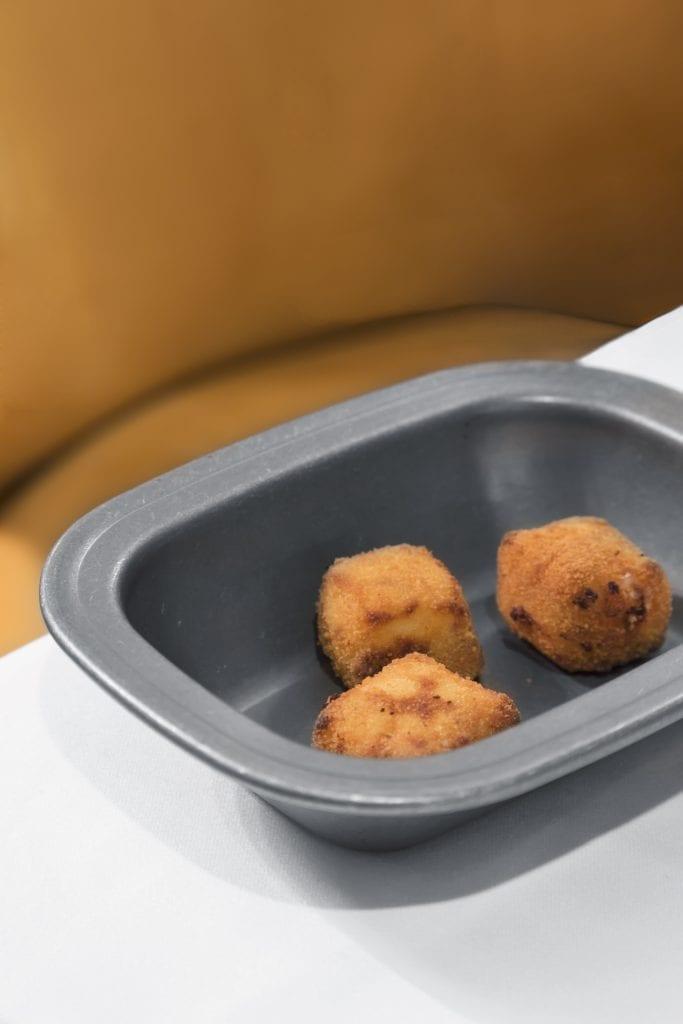 Plateselector - Croquetas de jamón ibérico del Restaurante Prístino de Madrid
