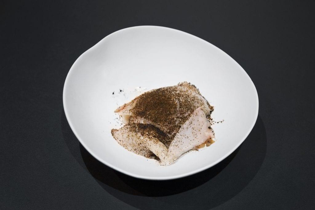 Plateselector - Ensalada de setas con bacalo del Restaurante Sandó de Madrid