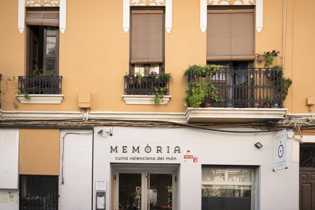 Plateselector - Local exterior del Restaurante Memòria de Valencia