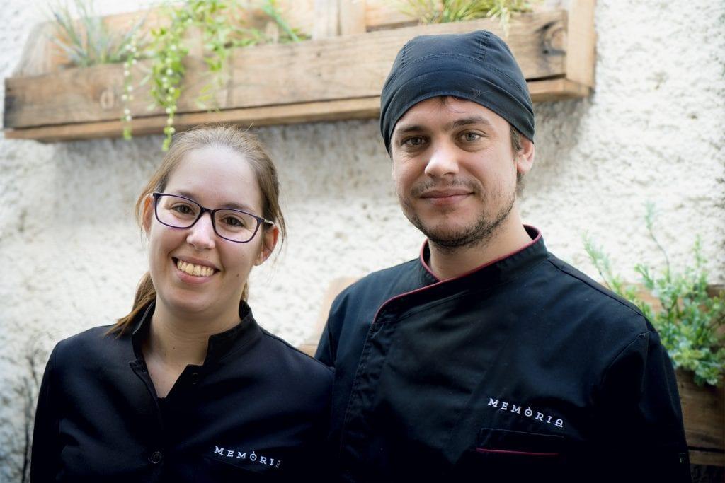 Plateselector - Marta y Andreu del Restaurante Memòria de Valencia