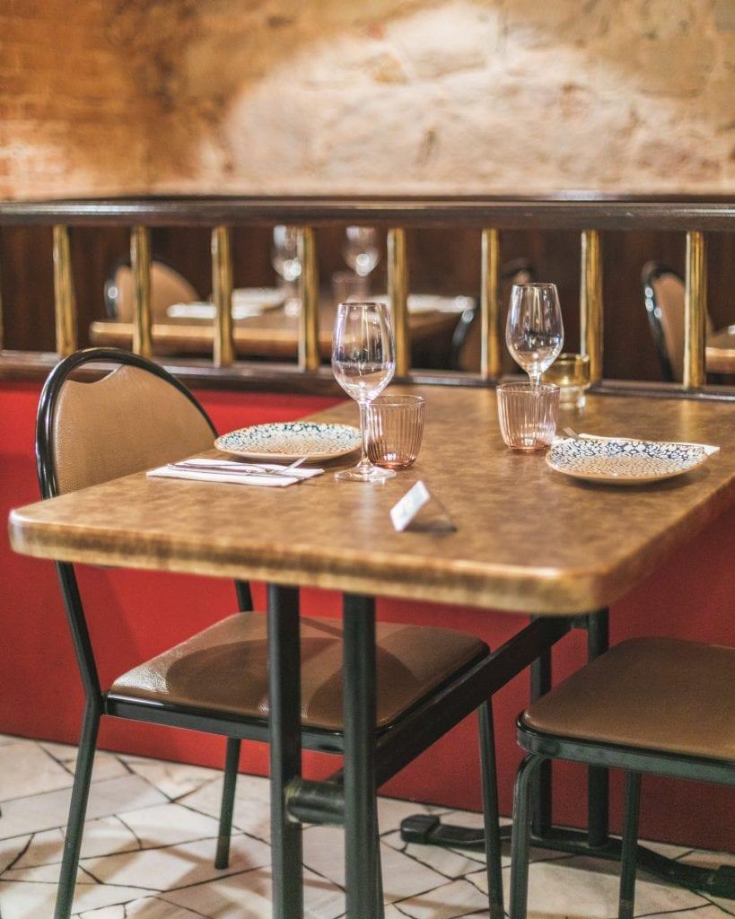 Plateselector - Local del Restaurante Bistrot Bilou de Barcelona