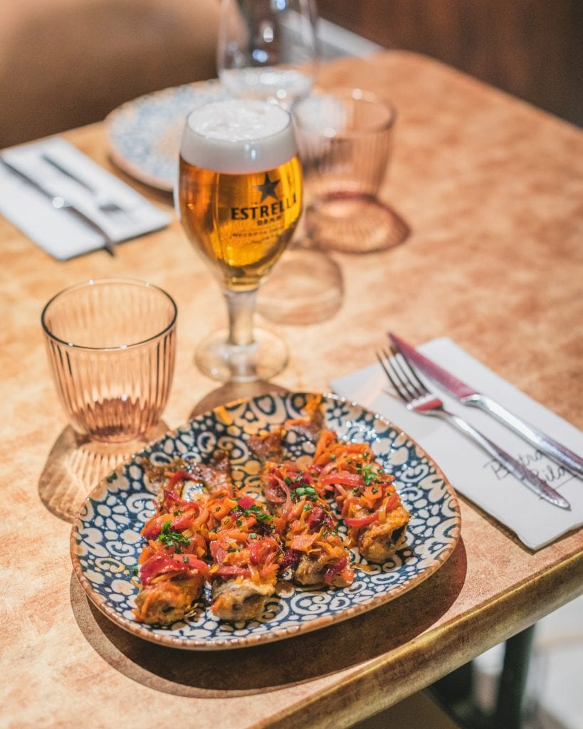 Plateselector - Sardinas del Restaurante Bistrot Bilou de Barcelona